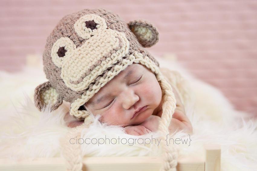 Free Crochet Patterns Monkey Hat : My New Years resolution, 24 new patterns! Sweet Kiwi Crochet