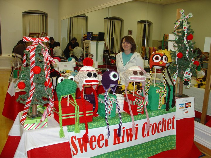 Craft show sweet kiwi crochet for Crochet crafts that sell well