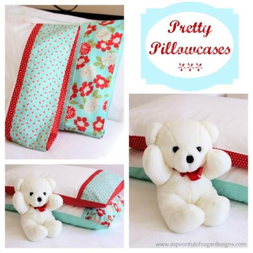 Pretty Pillowcase Collage